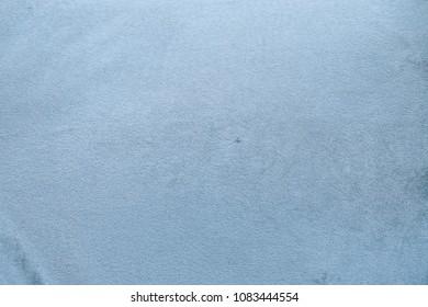Velvet texture. Closed up velvet texture of a blue vintage sofa