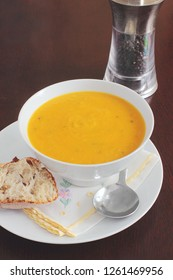 A velvety smooth carrot soup is a perfect appetizer or first course for your holiday meal, or delicious on its own as a lunch or light dinner