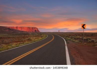 Vemilion Cliffs landscape near Page, Arizona