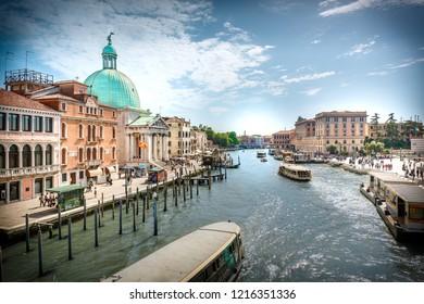 Venedig, Water, Spring