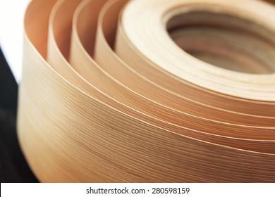 Veneer in a roll