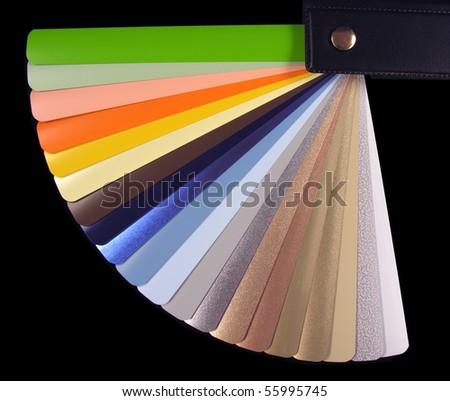 Venetian Blinds Color Chart Stock Photo Edit Now 55995745