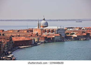 Venetian cathedral, canals and islands, Italy