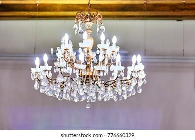 Venetian chandelier. Venetian glass. Chandelier
