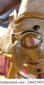 Venetian close up of carnival masks