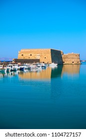 Venetian Fortress in Heraklion, Crete, Greece