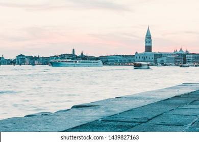 Venetian lagoon,  Venice, Italy, San Giorgio Maggiore island