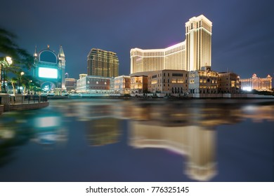 The Venetian Macao Casino and Hotel in Macau (Macao) , China