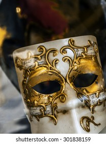 Venetian mask closeup