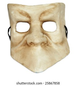 Venetian Mask isolated on a white background.