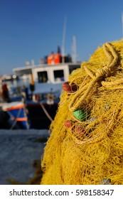 Venetian port in Irakleo Greece, Europe