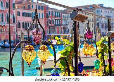 Venetian restaurant terrace near Rialto Bridge
