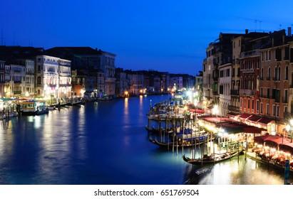 Venezia beautiful view at night, Venice