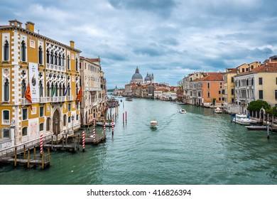 VENEZIA, ITALY - GRAND CANAL