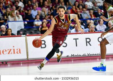 Venezia, Italy, October 15 2019 Austin DAYE of Umana Reyer Venezia , Italy,  during Umana Reyer Venezia vs Tofas Bursa Basketball EuroCup Championship