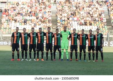 Venezia, Italy, September 14 2019 LINE UP OF VENEZIA FC  during Venezia Vs Chievo  Italian Soccer Serie B Men Championship