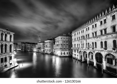Venezia Long exposure By Night