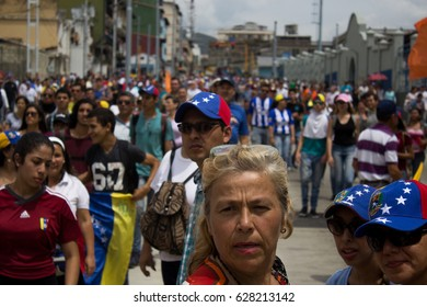 MÉRIDA, VENEZUELA - OCTOBER 2016 - Venezuelan people did a protest against their Government. This protest derived on violent acts.