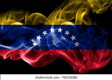 Venezuela smoke flag