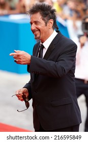 VENICE - AUGUST 30: Al Pacino at 'Manglehorn' Premiere at the 71st Venice Film Festival on August 30, 2014 in Venice.