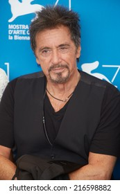 VENICE - AUGUST 30: Al Pacino at 'Manglehorn' photocall at the 71st Venice Film Festival on August 30, 2014 in Venice.