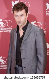 VENICE - AUGUST 30: James Deen at 'Canyons' photo call during the 70th Venice Film Festival on August 30, 2013 in Venice.