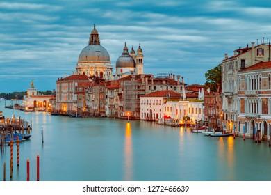 Venice. Basilica of Santa Maria della Salute.