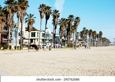 Venice beach bike trail