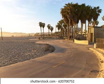 Venice beach, Santa Monica, California, USA - March 29, 2017 :Venice beach Santa Monica California USA