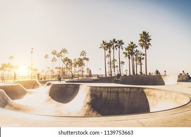 Venice beach skatepark, Los angeles