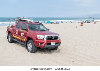 Venice, California, USA - May 27, 2018: Venice beach is known for its bohemian spirit, Venice is a buzzing beach town with upscale commercial and residential pockets.