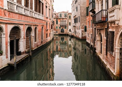 Venice Canal and Architecture