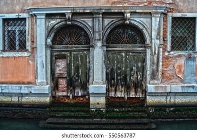 Venice Canal Doors