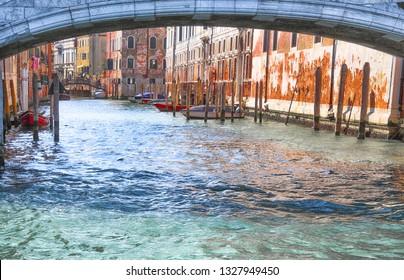 Venice The City of Canals. Rio del Gesuiti