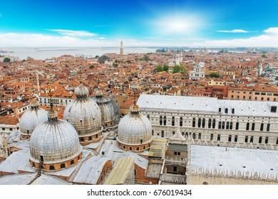 Venice city on sunny days