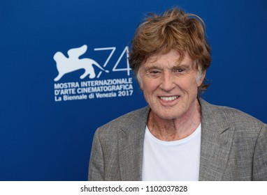 Venice, Italy. 01 September, 2017.  Robert Redford attends the 'Our Souls At Night' photocall  at the 74th Venice Film Festival.