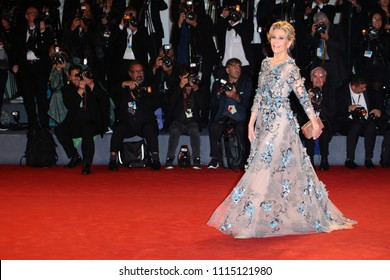 Venice, Italy. 01 September, 2017.  Jane Fonda walk the red carpet ahead of the 'Our Souls At Night' screening during the 74th Venice Film Festival
