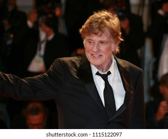 Venice, Italy. 01 September, 2017. Robert Redford  walk the red carpet ahead of the 'Our Souls At Night' screening during the 74th Venice Film Festival