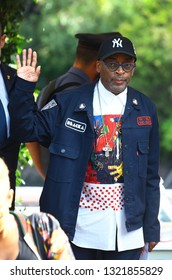 Venice, Italy - 01 September, 2018. Director Spike Lee are seen during the 75th Venice Film Festival on September 01, 2018 in Venice Italy
