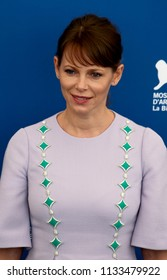 Venice, Italy. 02 September, 2017. Barbora Bobulova attends the photocall of the movie 'Diva!' presented out of competition at the 74th Venice Film Festival