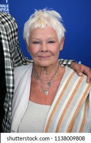 Venice, Italy. 03 September, 2017.  Judi Dench attends the 'Victoria & Abdul And Jaeger-LeCoultre Glory To The Filmaker Award 2017' Cinema photocall during the 74th Venice Film Festival