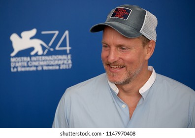 Venice, Italy. 04 September, 2017. Woody Harrelson attend the photocall of the movie 'Three Billboards Outside Ebbing, Missouri' presented in competition at the 74th Venice Film Festival