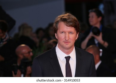 Venice, Italy - 05 September 2015: Director Tom Hooper attends the premiere of the movie 'THE DANISH GIRL' during the 72nd Venice Film Festival