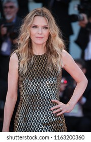 Venice, Italy. 05 September, 2017. Michelle Pfeiffer attends the Gala Screening and World Premiere of 'mother!' during the 74th Venice Film Festival