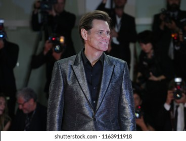 "Venice, Italy. 05 September, 2017.Jim Carrey "" attend the premiere of the movie 'Jim & Andy: The Great Beyond - presented out of competition at the 74th Venice Film Festival"