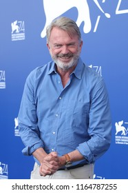 Venice, Italy. 05 September, 2017. Sam Neill  attends the 'Sweet Country' photocall during the 74th Venice Film Festival