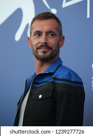 Venice, Italy. 08 September, 2017. Xavier Legrand  attends the photocall of the movie 'Jusqu'à la Garde' presented in competition at the 74th Venice Film Festival