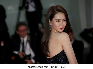 Venice, Italy. 08 September, 2017. Qi Wei  walk the red carpet ahead of the 'Manhunt (Zhuibu)' screening during the 74th Venice Film Festival