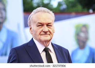 Venice, Italy - 09 September 2015: Jerzy Skolimowski attends a premiere for '11 Minutes' during the 72nd Venice Film Festival