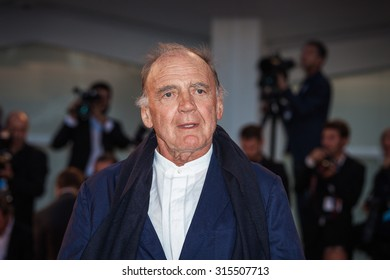 Venice, Italy - 10 September 2015: Actor Bruno Ganz attends a premiere for 'Remember' during the 72nd Venice Film Festival
